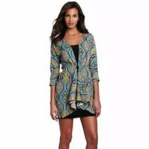 Mara Hoffman Geometric Print Mini Tunic Dress